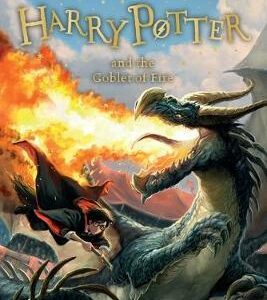 HARRY POTTER 4: THE GOBLET OF FIRE N/E PB B FORMAT