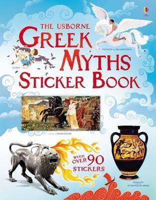 USBORNE : GREEK MYTHS STICKER BOOK PB