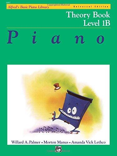 ALFRED'S BASIC PIANO LIBRARY: PIANO THEORY BOOK LEVEL 1B
