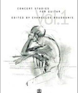 CONCERT STUDIES FOR GUITAR VOL.1
